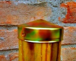 Pfostenkappe verzinkt schutzkappe für Holzpfosten, abdeckkappe für Zaunpfosten