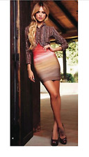 NWOT Authentic Herve Leger Babette red ombre strapless dress size S - $1,450