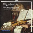 Biber: Violin Sonatas from the Kremsier Archive Super Audio Hybrid CD (CD, Aug-2005, CPO)