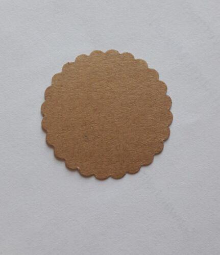 50  Preisetiketten//Geschenkanhänger//ø3,8cm,natur,Geschenketiketten,Preisschilder
