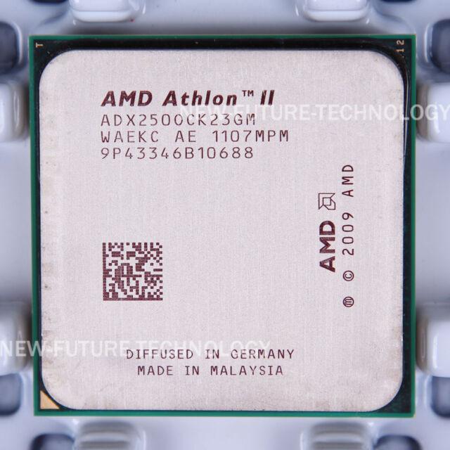 AMD ATHLON II X2 250 PROCESSOR DRIVERS UPDATE