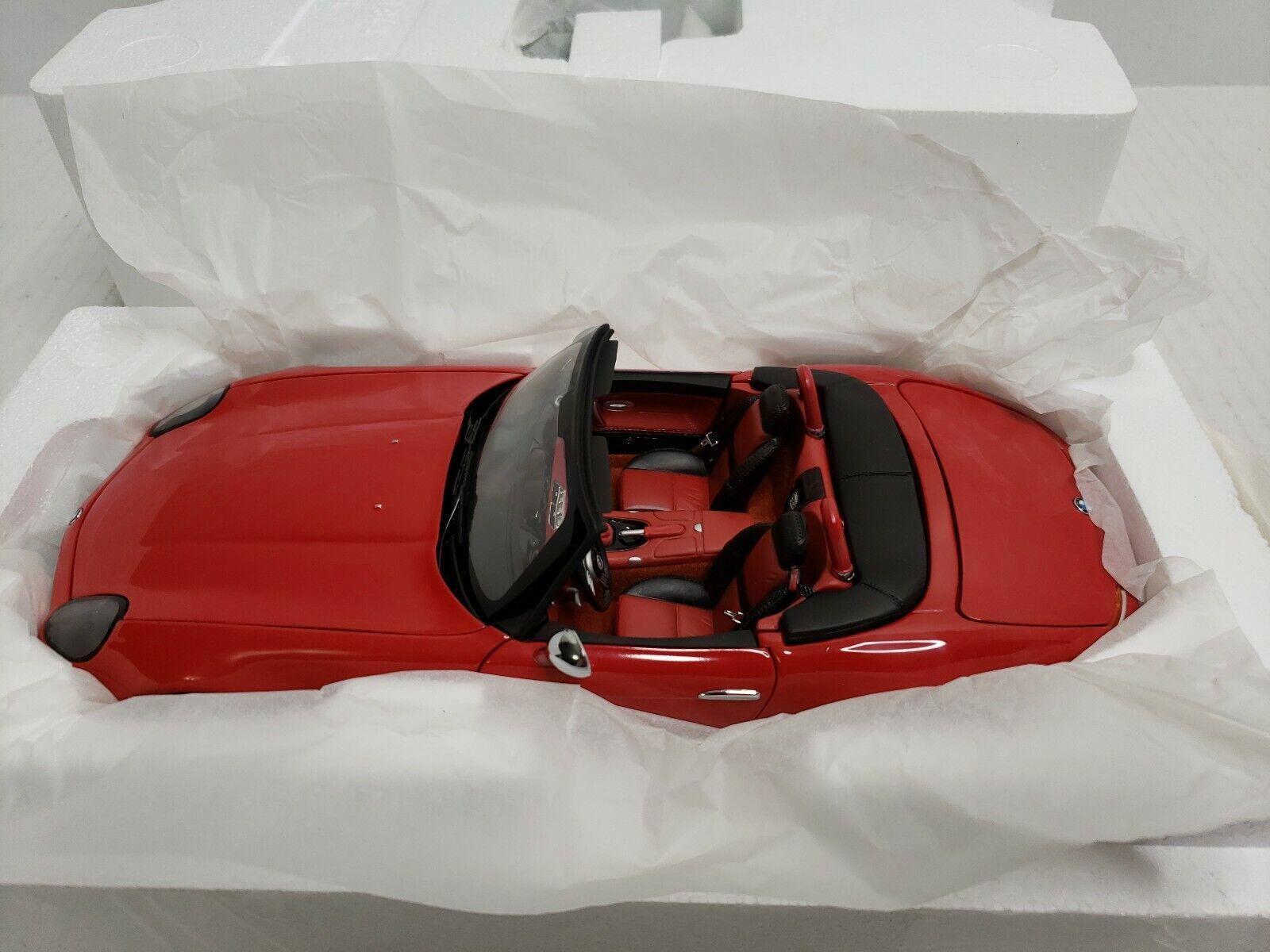 Kyosuo 2001 BMW Z8 118 Rosso 08511R Nuovo in Scatola difficili da trovare Giappone