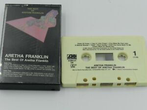 The-Best-of-Aretha-Franklin-Cassette-Tape-1984-Atlantic-Recording-Chain-of-Fools