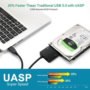 SATA-to-USB-3-0-2-5-3-5-inches-HDD-SSD-Hard-Drive-Converter-Adapter-Cable-AU