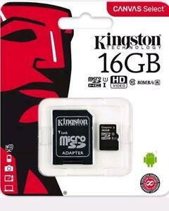 16gb-micro-SD-card-Kingston-Free-Adapter-Class-10-Genuine-Product