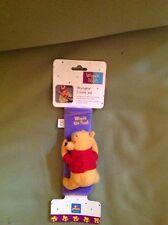 disney winnie the pooh seat belt pal voyageur travel pal brand new on card