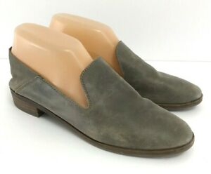 be90b6e7222 Lucky Brand Womens 7.5 Cahill Leather Loafer Slip On Flats Driftwood ...