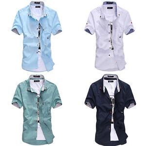 sh us mens clothing casual shirts sleeve summer