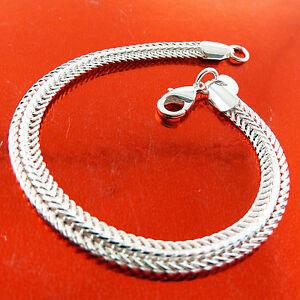 Bracelet-Bangle-Genuine-Real-925-Sterling-Silver-S-F-Solid-Cuff-Antique-Design