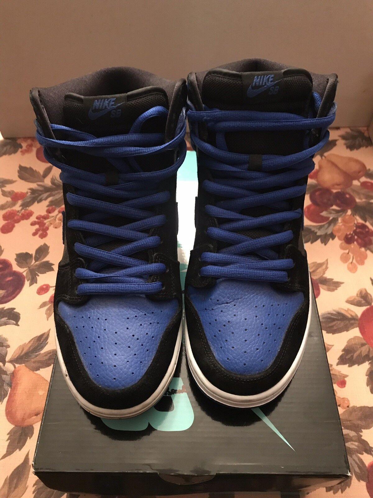 Nike SB Dunk Royal bluee High Top - Not Pidgon Jordan Paul Rodrigez - Sz 12 -NICE