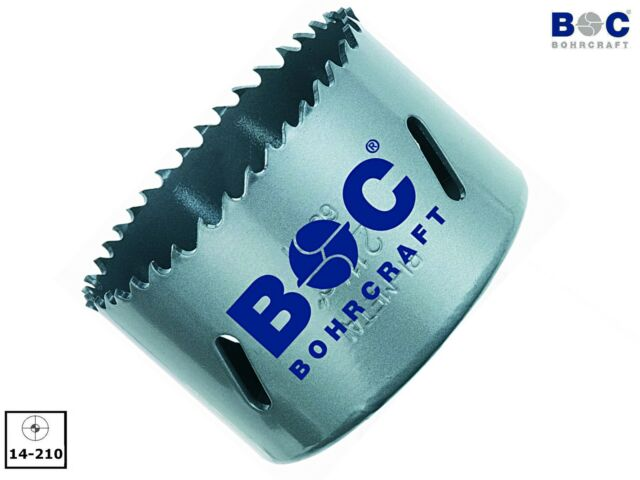 BOHRCRAFT Bimetall Lochsäge mit HSS Zahnschneiden