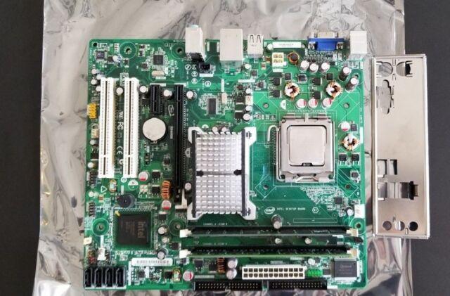 Intel DG31PR, LGA775 Socket Motherboard  D97573-304 + CPU + DDR2 667 (2*2GB)4GB