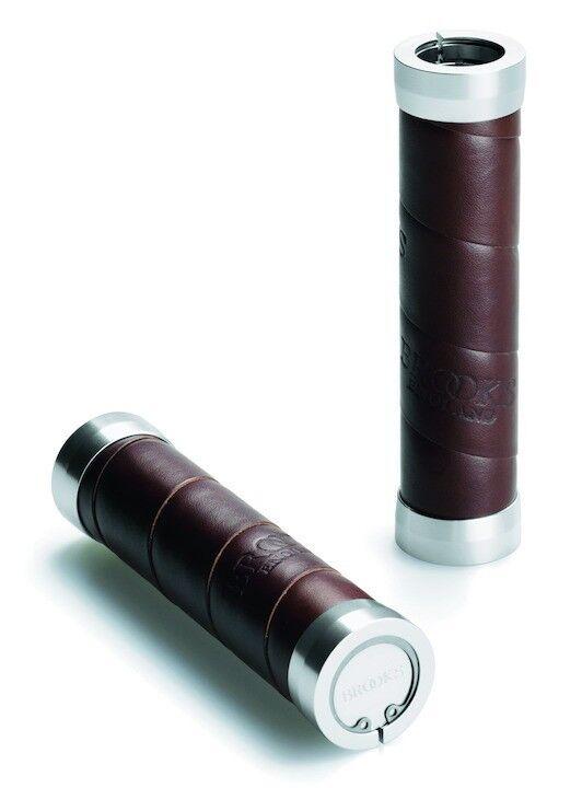 Brooks Slender Leder Lenkergriff 130mm - braun braun braun dab982