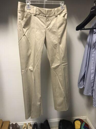 Alice And Olivia Pants Trousers Tan Khaki Unique S