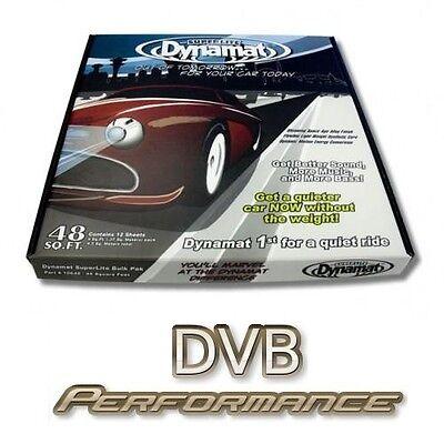 Dynamat Superlite Bulk Pack DYN10648 Car Sound Proofing Deadening Kit 12 sheets