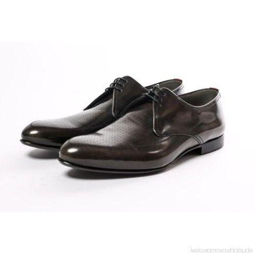 Hugo Boss cuero señores con cordones fultion 42 nuevo zapatos derby dress zapatos 8 9