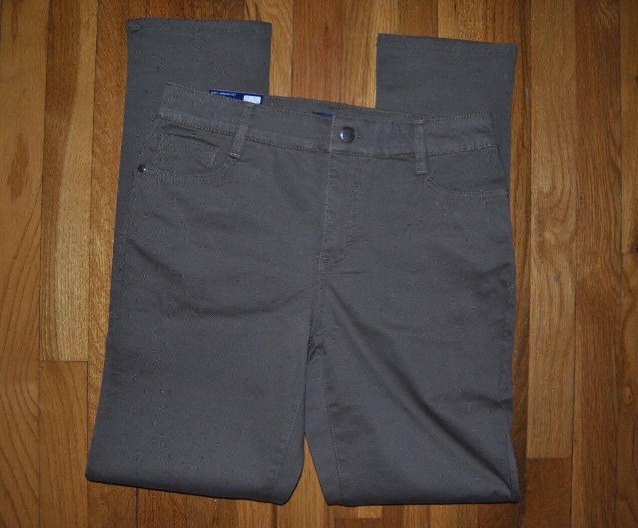 NWT Womens BANDOLINOBLU Amy Straight Leg Comfort Slim Purple Jeans Pants 6