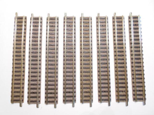 FLM PICCOLO 9101 gerades Gleis 111mm 8 Stück (39010)
