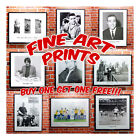 Quality Fine Art Prints - Black & White. Celebrities, Stars, Icons. Cool Retro
