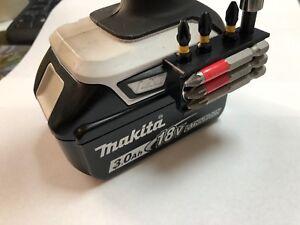 Makita belt hook clip /& bit holder /& screw 18V 10.8v Impact Drill££