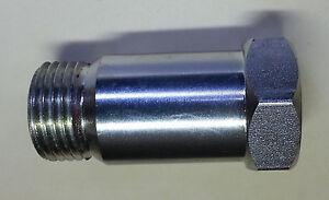 02-O2-SENSOR-EXTENDER-SPACER-STAINLESS-STEEL-M-18-X1-5-HHO-BUNG-44-5mmlongUSA