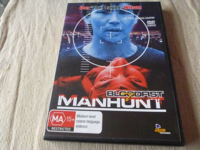 Bloodfist VII / 7 - Manhunt (DVD) Region Free  Don Wilson