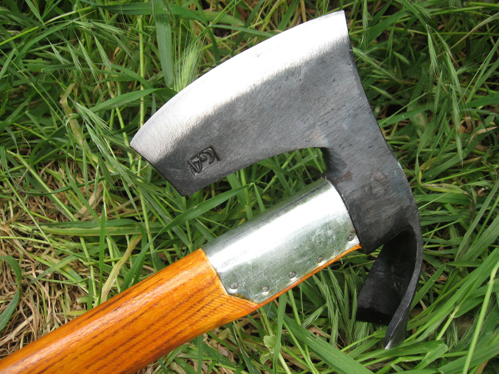 Forged Handmade Combined Tool  Bearded Axe & Curved Bowl Spoon Maker Adze Hatchet  select from the newest brands like