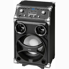 AEG Entertainment Center mit Akku EC 4829 schwarz Trolley Bluetooth/USB/AUX