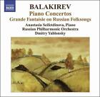Balakirev: Piano Concertos; Grande Fantaisie on Russian Folksongs (CD, Feb-2009, Naxos (Distributor))