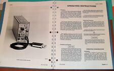 Tektronix Manuals Operator Instruction Service Original Paper Products