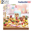 Realistic Play Food 79 Pieces Kitchen Toys For Toddlers Kids Cooking Fake NEW