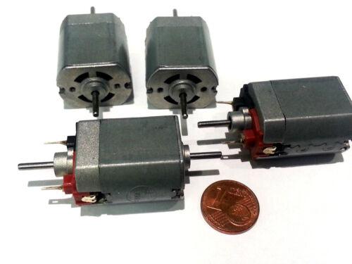 Bühler-Motor 12V  mit Doppelwelle 1.16.011.207 für Modellbahn geeignet 4 Stück