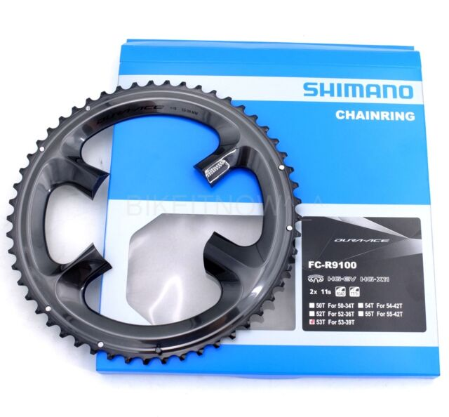 Shimano Dura Ace FC-R9100 11 Speed 53T Chainring for 53-39T Crankset