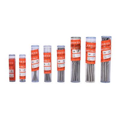 10Pcs Micro HSS 0.3-3mm Straight Shank Twist Drilling Bits Sets Tiny Durable !