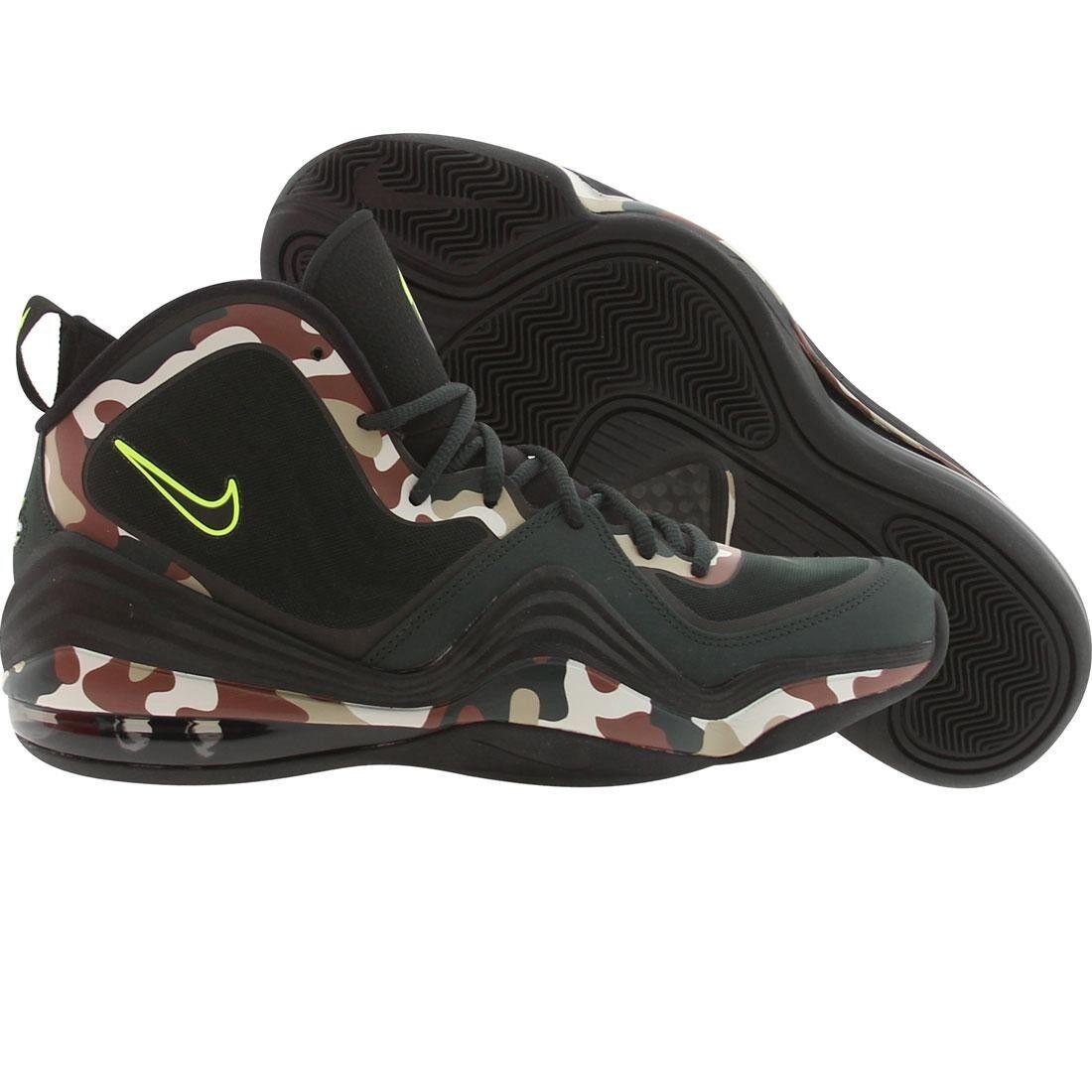 sale retailer cc4ea 86845 Nike Hombres Penny V Camo (camuflaje Air Negro Abeto Negro Volt)