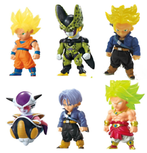 BANDAI DRAGON BALL Z Super ADVERGE  Mini Figure 6 type sets JP NEW F//S