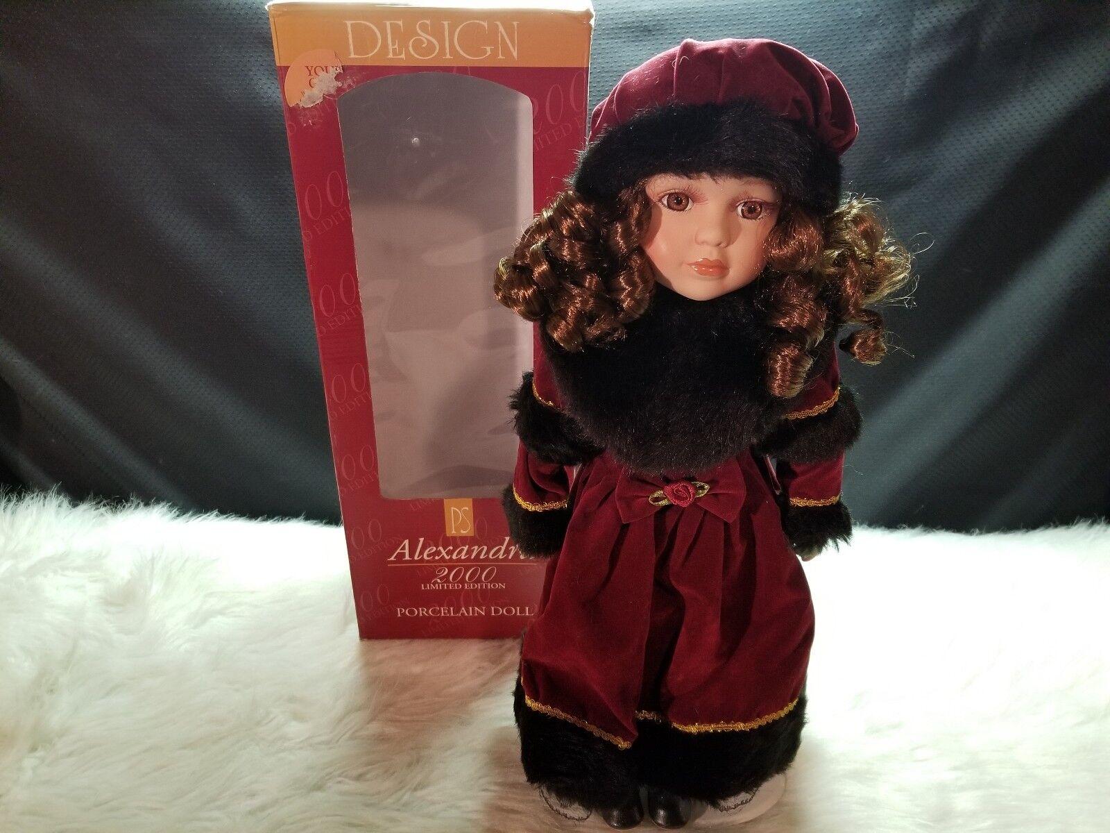 Alexandra 2000 Limited Edition Porcelain Doll