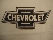 Chevrolet General Motors GM Car Brand Chevy White T Shirt L
