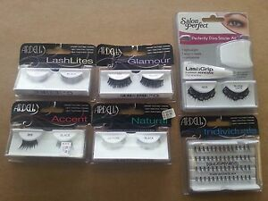Lot of 6 ardell salon perfect lashes false fake for Salon 615 lashes