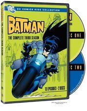 BATMAN : COMPLETE SEASON 3 (DC Animated) - DVD - UK Compatible -  sealed