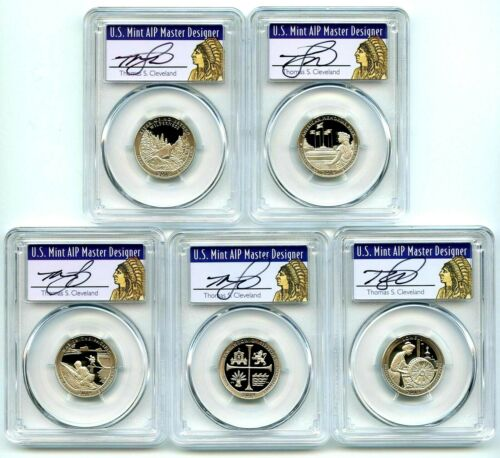 5 Clad 2016 S Proof Deep Cameo American Parks Quarters Set Combined Shipping