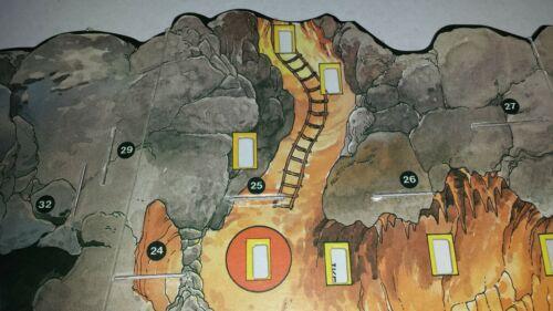 Multi-Anuncio accesorios juego de mesa VIAJE AL CENTRO DE LA TIERRA de CEFA