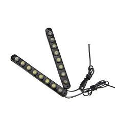Universal 2PCS 8 LED DRL lampen Superweiß 12V DC Auto Tagfahrlicht Licht