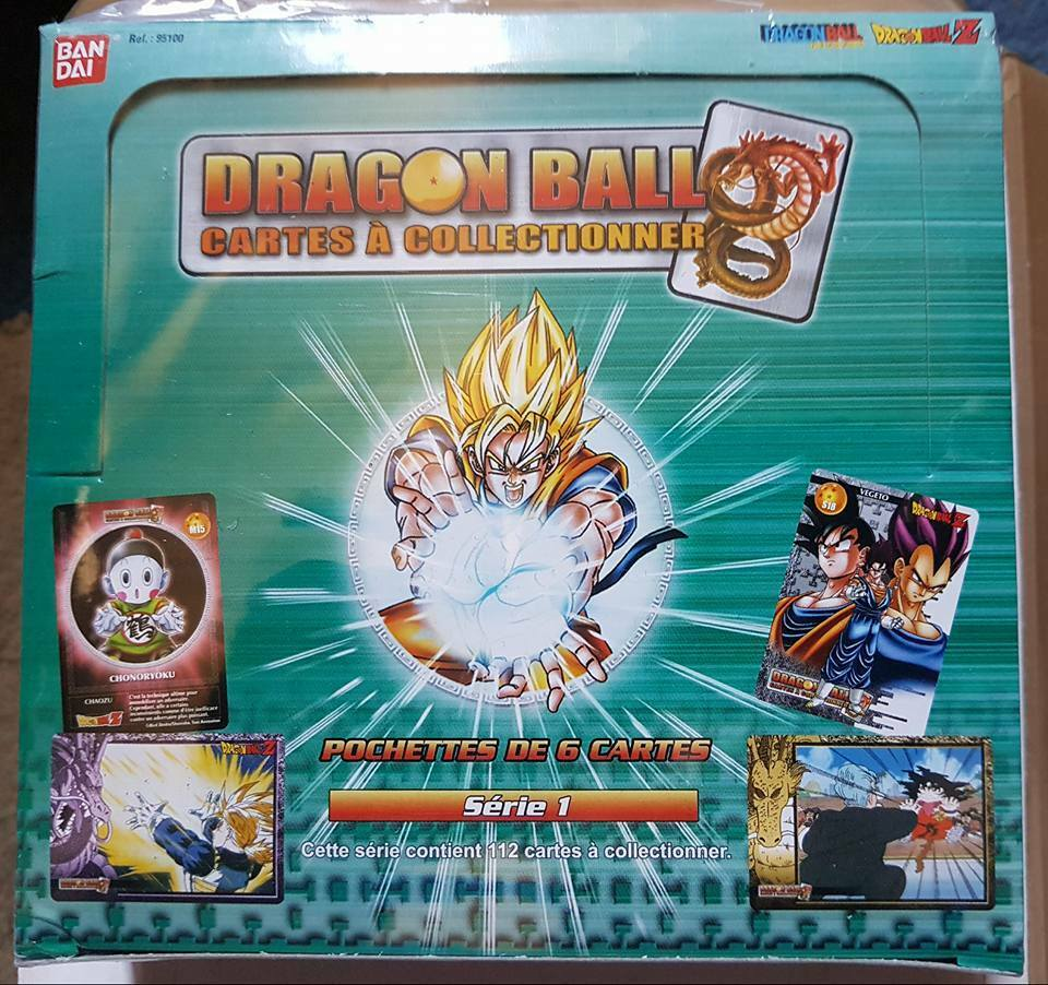 Carte Dragon Ball Z DBZ Cartes à Collectionner (Skill Cards FR) Série 1  Box