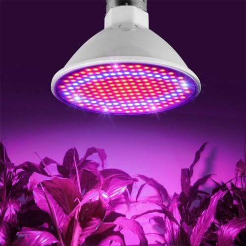 4X 200LED E27 Plant Grow Light lamp flower seeds Growing Lights Bulbs Hydroponic