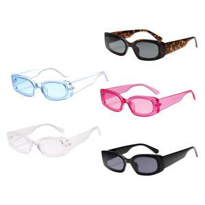 Frauen-Mens-Square-Sonnenbrillen-Fashion-Candy-Farbe-Sonnenbrille-Shade