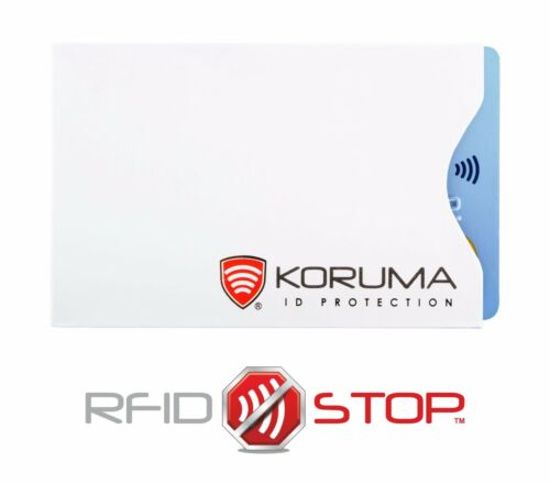 RFID Blocking 100/% sleeve credit debit contactless card holder protector LOT