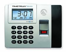 New Pyramid Ttelite Biometric Time Clock System