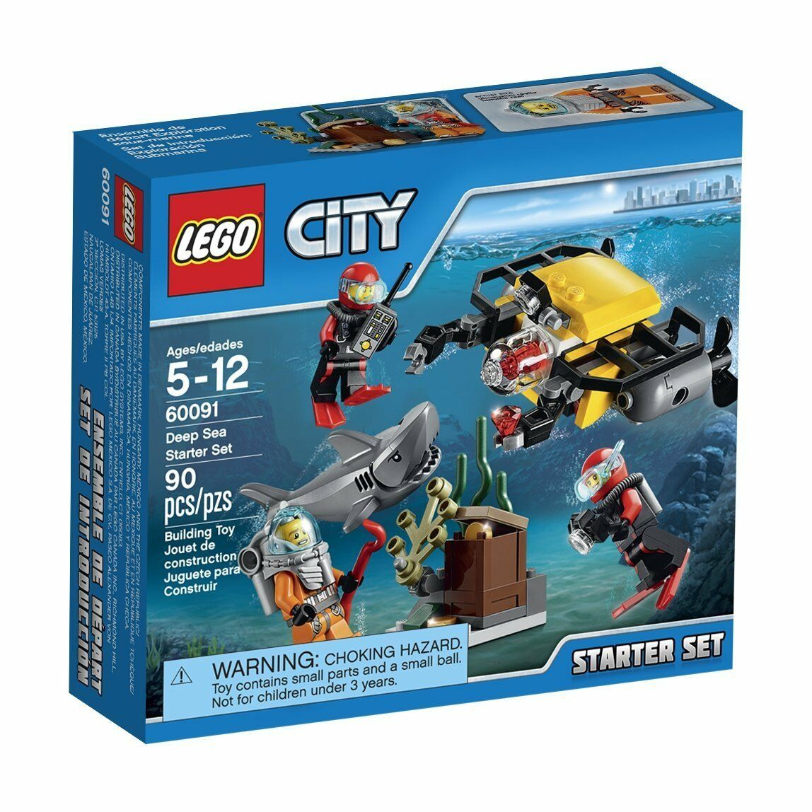 online economico LEGO LEGO LEGO città Deep Sea Estrellater Set (60091)  la migliore selezione di