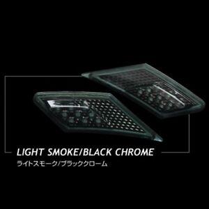 Valenti-Jewel-LED-Side-Marker-Light-Smoke-Black-Chrome